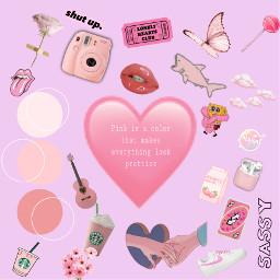 pink love freetoedit
