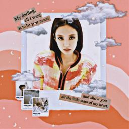 freetoedit blackpink bp jennie kpop kpopedits kpopidol orange aesthetic love blink