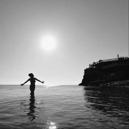 freetoedit bw bnw blackandwhite holiday sea seaside shilouette bwphotography bnwphotography blackandwhitephotography