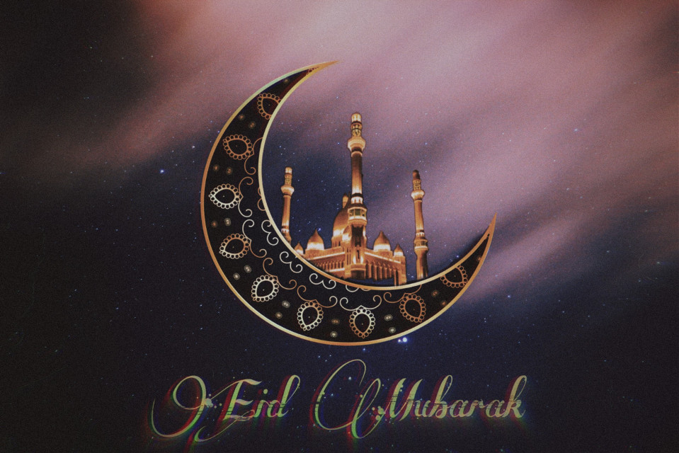 May your day be filled with smiles, joy and laughter. Eid Mubarak ❤️   #freetoedit #remixit