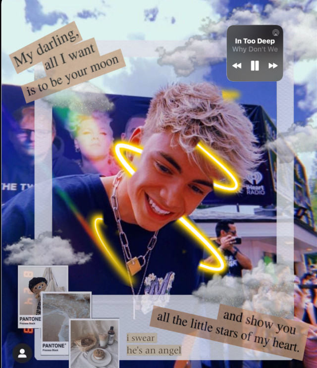 #freetoedit #corbynbesson my bby i swear look hes a mf a angel and he even sings like one🥺💞