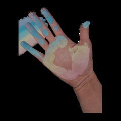 freetoedit hand rainbow edit draw chalk