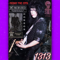 mickmars motleycrue 80s rock horror freetoedit