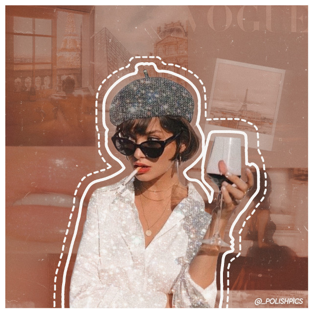 Picsart needs to fix the drawing tool asap cause doing outlines is impossible! 🍓   #interesting #people #summer #outline #aesthetic #background #glitter #vintageaesthetic #vibes #pink #bronze #vintage #retro #polishpics #_polishpics #follow #grain #france  #freetoedit