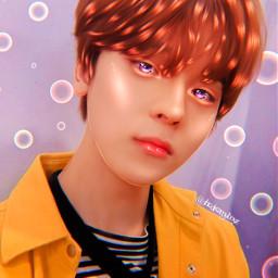kpop aesthetic kpopedit kpopaesthetic manip minsu too cute colorful freetoedit