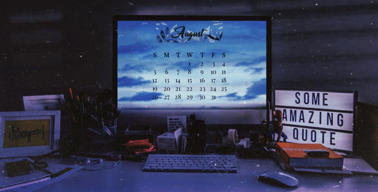 #freetoedit #august #summer #sky #blue #blueaesthetic  #asthetic #office #officetime #company #computer #srcaugustcalendar #augustcalendar °