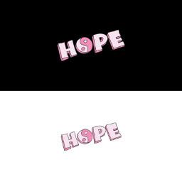 header headertwitter twitter hope pink black white