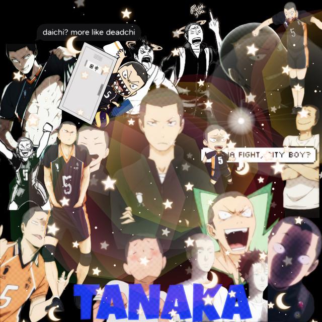 #freetoedit #tanaka #haikyuu #fanart #haikyuufanart #cuteanimeboy #cute #anime