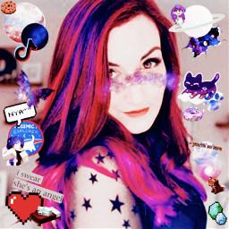 freetoedit laurenzside lauren zside purple purpleaesthetic galaxy galaxyaesthetic galaxyedit aesthetic tiktok cat cats galaxycats galaxycat minecraft pixel