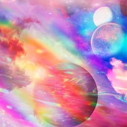 freetoedit picsart background galaxy space planets remix remixit