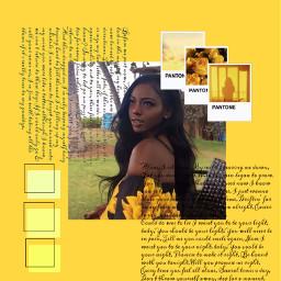 freetoedit retro remix replay interesting art beach california yellow yellowaesthetic yellowflower