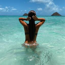 hawaii paradise oahu ocean tropical beach sea clear island freetoedit