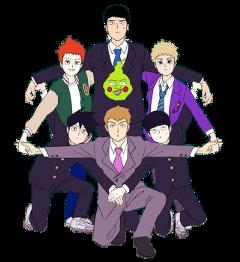 freetoedit mp100 mobpsycho100 mobpsycho anime katsuyaserizawa shousuzuki teru terukihanazawa ritsukageyama aratakareigen shigeokageyama mob ritsu reigen shou dimple