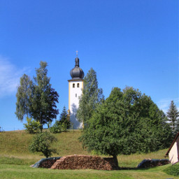 church bavaria germany summer