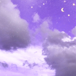 purple stars moon sky clouds background remixit photography myphoto edit art interesting madewithpicsart like love follow freetoedit