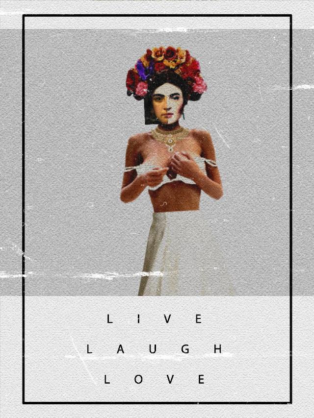 #freetoedit #fridakahlo #collage #loveframe #collageartistsoninstagram #mywork #HeyPicsArt #Awsome