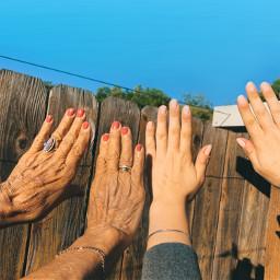 freetoedit grandma nails nailpolish hands fingers cute spaday