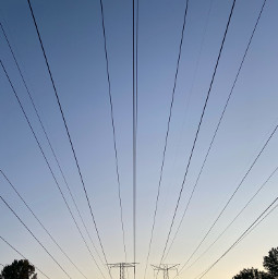 towers electricity amazing myphoto cellphonecamera afternoon sunset drama cables sky nature forest illinois freetoedit