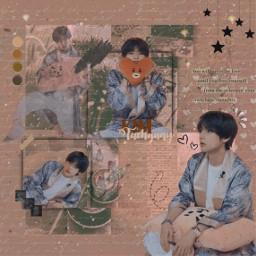 freetoedit tahyung kimtaehyung edit bts
