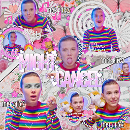 millie bobby brown milliebobbybrown pink complex edit complexedit strangerthings strangerthings3 strangerthings2 noahschnapp mills milliebb freetoedit