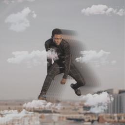 freetoedit man motion jumping picsarteffects