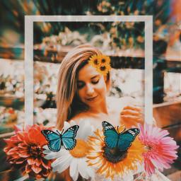 flowers flowerpower replay freetoedit