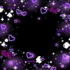 freetoedit exlipsegfx heart hearts purple