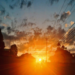 sunset romneywv smalltown