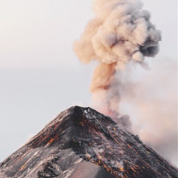 freetoedit photography nature volcano sky hawaii travel aethstic background mountains vibe smoke