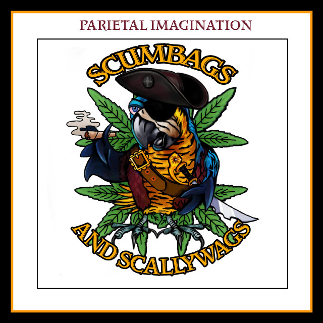 Edit by: Parietal Imagination Art @pa, Commission- Social Media page logo #parrot #pirate #pot #smoking #socialmedia #logo #merchandise #master #donotedit #notfreetoedit #commission #madewithpicsart #parietalimagination