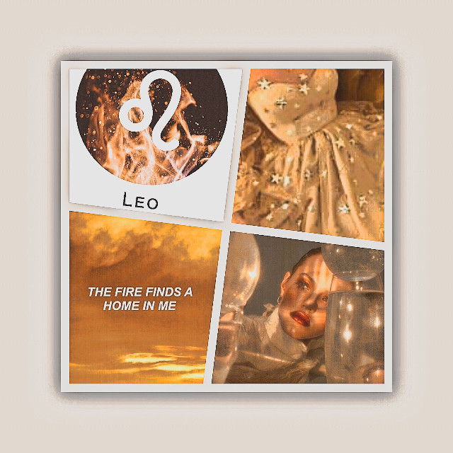 """Open!  Leo: Element: fire  Color: tan   Planet: sun  Most compatible with: other Leos, Aries, Sagittarius, and Geminis  Least compatible with: Taurus and Scorpio   Personality: self absorbed, brave, stubborn, leader, fun, dominating   Repost if youre a Leo or know someone who is!♌️   ⭐️TAGLIST⭐️ @hollanderxxx @shinning_solo  @gleeloverforever   Dm me """"⭐️"""" to join   🔮ASTROLOGY TAGLIST🔮  dm me """"🔮"""" to join    #zodiacsign #leo #leozodiac #leoaesthetic       #freetoedit"""