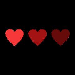 freetoedit exlipsegfx red heart hearts scheme