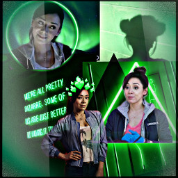 ellalopezlucifer ellalopez lucifer green doctor aesthetic weird crazy alittlemessedup freetoedit