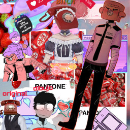 freetoedit fnaf fnaf2 fnaf3 phoneguy purple purpleguy realpeople ship gay heteroflag elhombredeltelefono scott vinscott