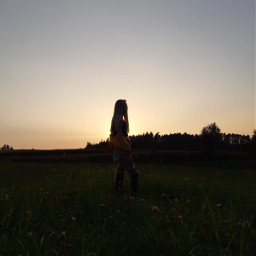 sunset sonnenuntergang summer spaß cool drausen nature photography photo beutiful model schön cute süß freundinen ich sunste sundown wunderschön