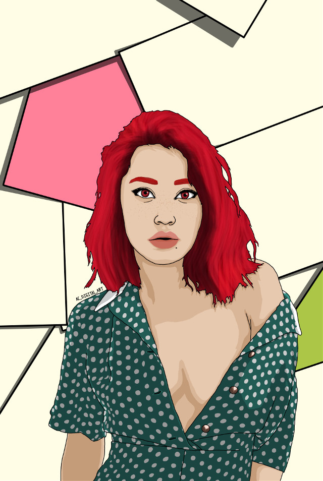 This weeks been a pretty good. Hope you guys are having a good week as well.     #AC_DIGITAL_ART #art #artist #picsart #picsartedit #painting #drawing #portrait #people #girl #girls #graphicart #graphicdesign #vectorart #vector #vectors #digitalart #digitalpainting #digitaldrawing