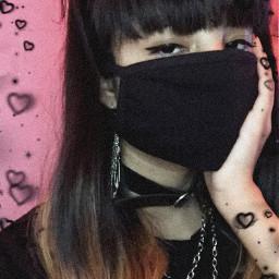 freetoedit goth gothic gothblack alt alternative altfashion chains emo eyeliner blackaesthetic