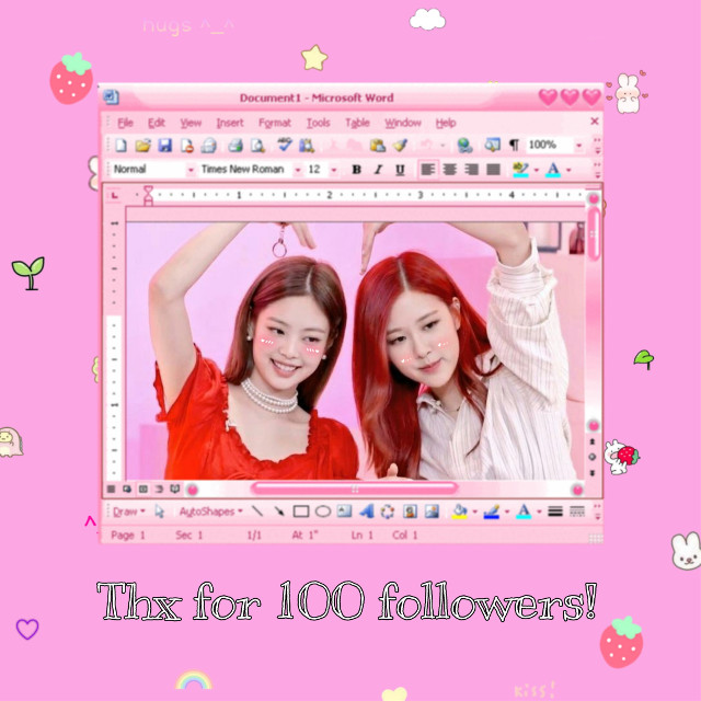 #freetoedit thank you so much for 100 followers!
