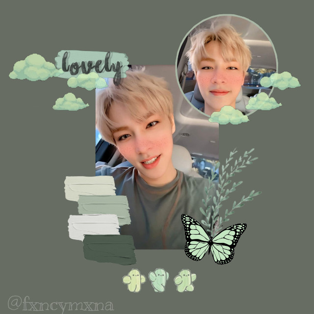 #freetoedit Happy S.Coups and Xiaojun day! 💚This boy deserves the world,and his vocals are amazing😔✨💚Here's an edit💚