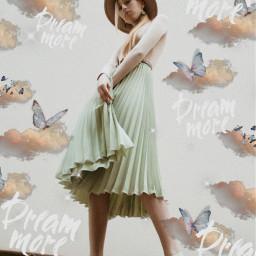 freetoedit clouds butterfly butterflies aestheticedit
