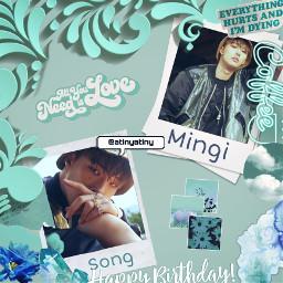 freetoedit ateez happybirthdaymingi faneditkpop kpop