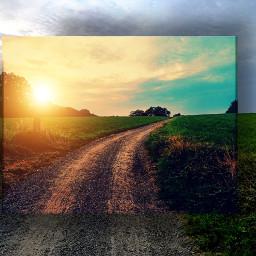 freetoedit kinora myedit myremix nature earlywalk earlybird loveit sunrise cloudsandsky