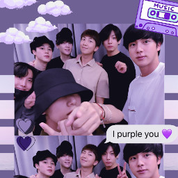 freetoedit bts btsarmy rm kimnamjoon jin kimseokjin suga minyoongi jhope junghoseok parkjimin v kimtaehyung jeonjungkook purple borahae ipurpleyou aesthetic wallpaper