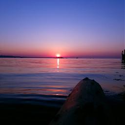 altenrhein august lakeofconstance sky sunset waves picturebyme