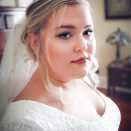 freetoedit wedding bride closeup portrait