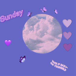 freetoedit aesthetic aestheticedit aestheticpurple purple sunday