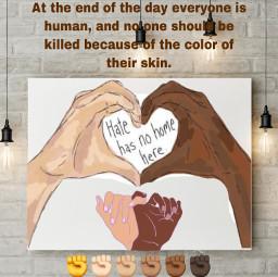 blm blacklivesmatter standforjustice standup nohate equality hatehasnohomehere spreadtheword freetoedit