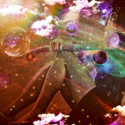 freetoedit spacy faroutspacenutts farout spaceart psychedelic trippyart contemplation art myedit