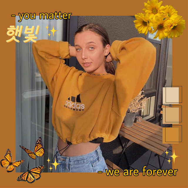 #freetoedit #edit #replay #emmachamberlain #yellowaesthetic #floral #yellow #brown #colour #yellowpallete #sticker #aesthetic #aestheticedit