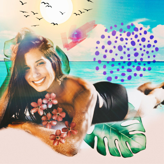 #freetoedit #myedit #madewithpicsart #editedbyme #editedwithpicsart #picsart #summer #summertime #relaxing #beach